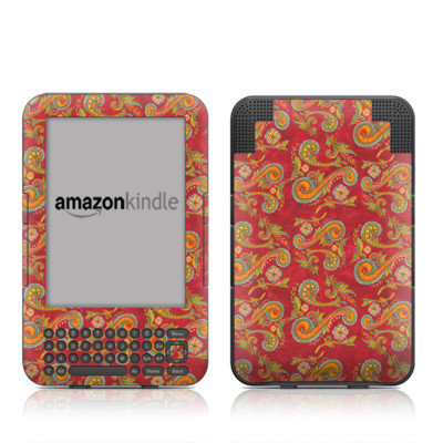 Kindle Keyboard Skin - Shades of Fall