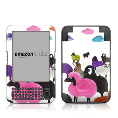 Kindle Keyboard Skin - Sheeps