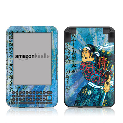 Kindle Keyboard Skin - Samurai Honor