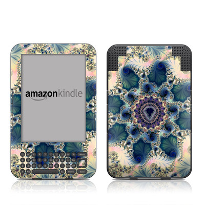 Kindle Keyboard Skin - Sea Horse