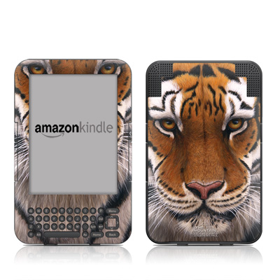 Kindle Keyboard Skin - Siberian Tiger