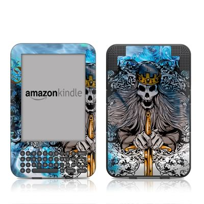 Kindle Keyboard Skin - Skeleton King