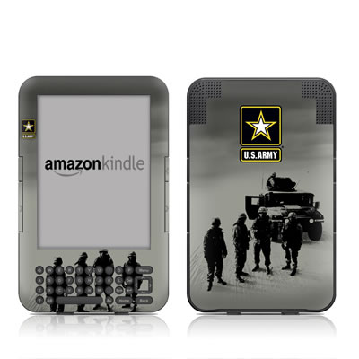Kindle Keyboard Skin - Soldiers All