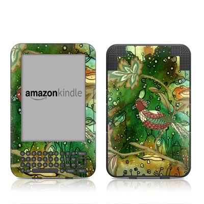 Kindle Keyboard Skin - Sing Me A Song