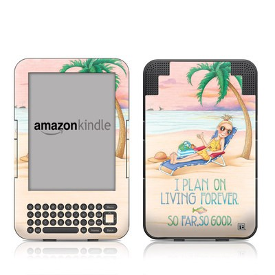 Kindle Keyboard Skin - So Far So Good
