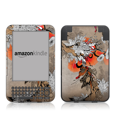 Kindle Keyboard Skin - Sonnet