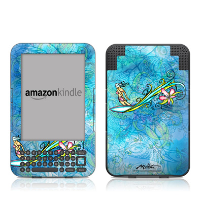 Kindle Keyboard Skin - Soul Flow