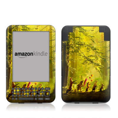 Kindle Keyboard Skin - Secret Parade