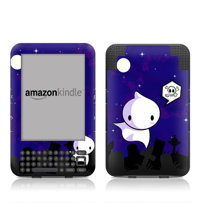 Kindle Keyboard Skin - Spectre