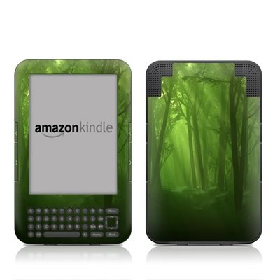 Kindle Keyboard Skin - Spring Wood