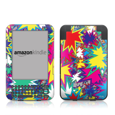 Kindle Keyboard Skin - Starzz