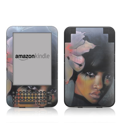 Kindle Keyboard Skin - Stashia