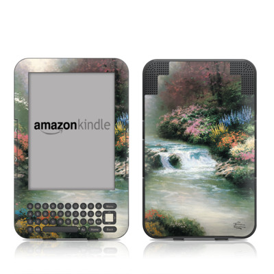 Kindle Keyboard Skin - Beside Still Waters