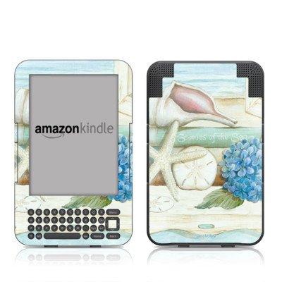 Kindle Keyboard Skin - Stories of the Sea