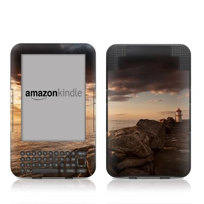 Kindle Keyboard Skin - Sunset Beacon