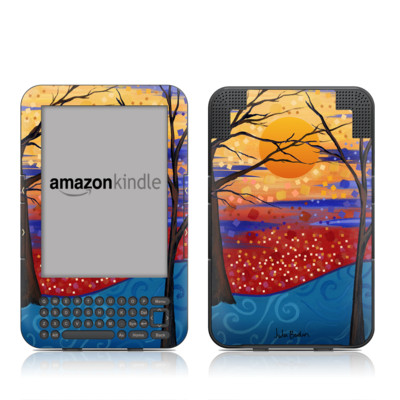 Kindle Keyboard Skin - Sunset Moon