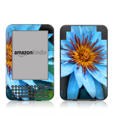 Kindle Keyboard Skin - Sweet Blue