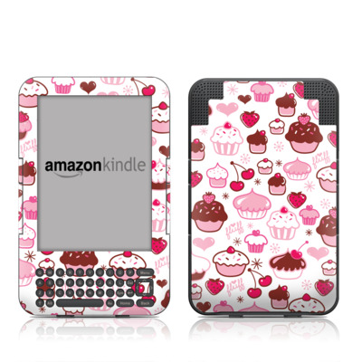 Kindle Keyboard Skin - Sweet Shoppe