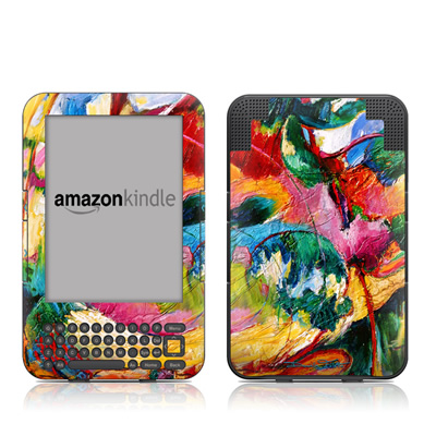 Kindle Keyboard Skin - Tahiti