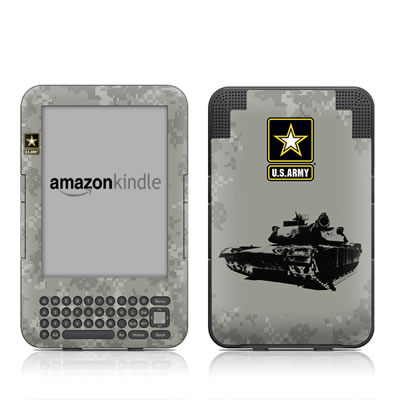 Kindle Keyboard Skin - Tank Tuff