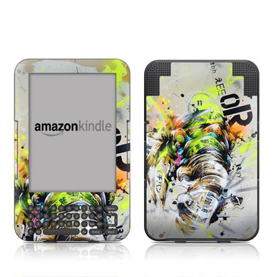 Kindle Keyboard Skin - Theory
