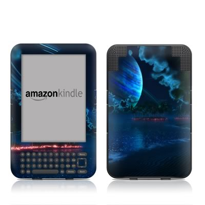 Kindle Keyboard Skin - Thetis Nightfall