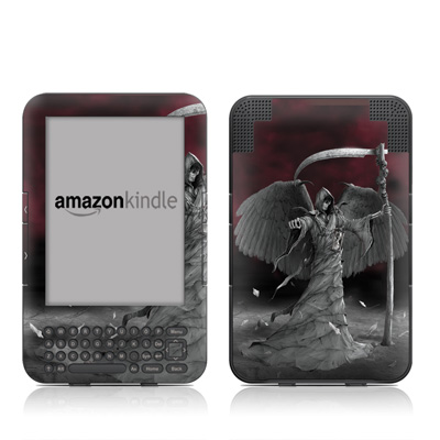 Kindle Keyboard Skin - Time is Up