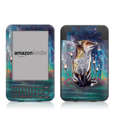 Kindle Keyboard Skin - There is a Light