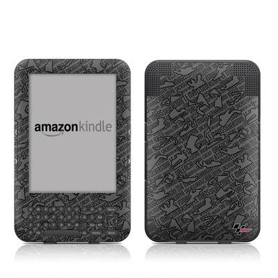 Kindle Keyboard Skin - Tracked