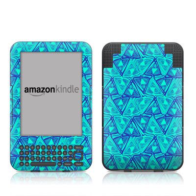 Kindle Keyboard Skin - Tribal Beat