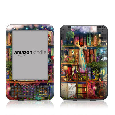 Kindle Keyboard Skin - Treasure Hunt