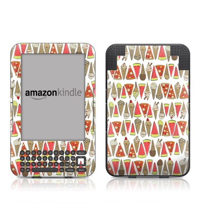 Kindle Keyboard Skin - Treats