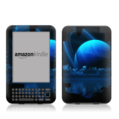 Kindle Keyboard Skin - Tropical Moon
