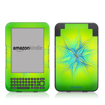 Kindle Keyboard Skin - Tube Stellations