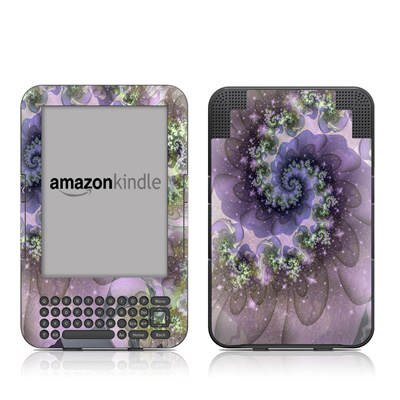 Kindle Keyboard Skin - Turbulent Dreams