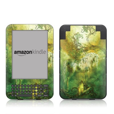 Kindle Keyboard Skin - Unicorn