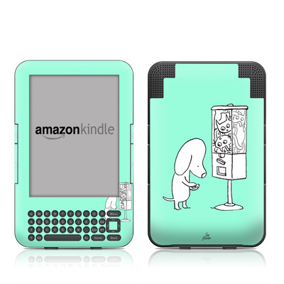Kindle Keyboard Skin - Vending