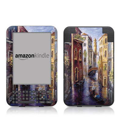 Kindle Keyboard Skin - Venezia