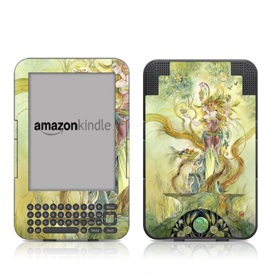 Kindle Keyboard Skin - Virgo