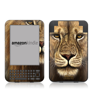 Kindle Keyboard Skin - Warrior