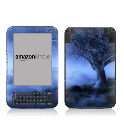 Kindle Keyboard Skin - World's Edge Winter