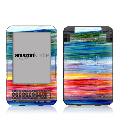 Kindle Keyboard Skin - Waterfall