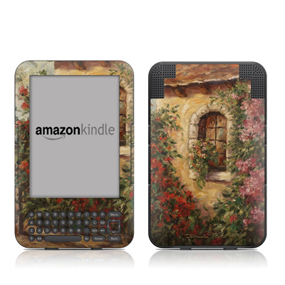 Kindle Keyboard Skin - The Window