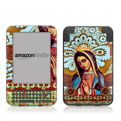 Kindle Keyboard Skin - Winged Guard