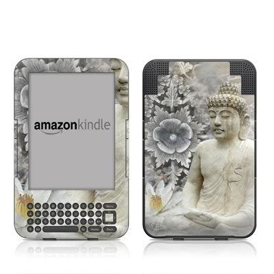Kindle Keyboard Skin - Winter Peace