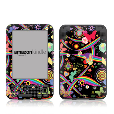 Kindle Keyboard Skin - Wonderland