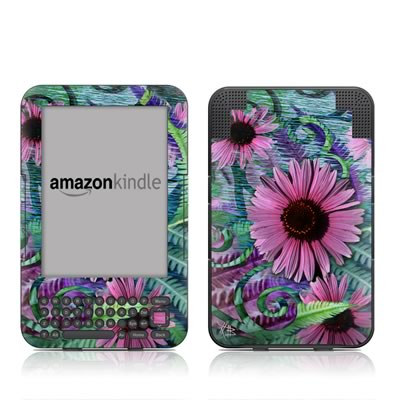 Kindle Keyboard Skin - Wonder Blossom
