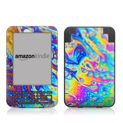 Kindle Keyboard Skin - World of Soap