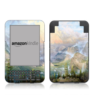 Kindle Keyboard Skin - Yosemite Valley