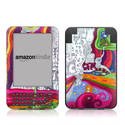 Kindle Keyboard Skin - In Your Dreams